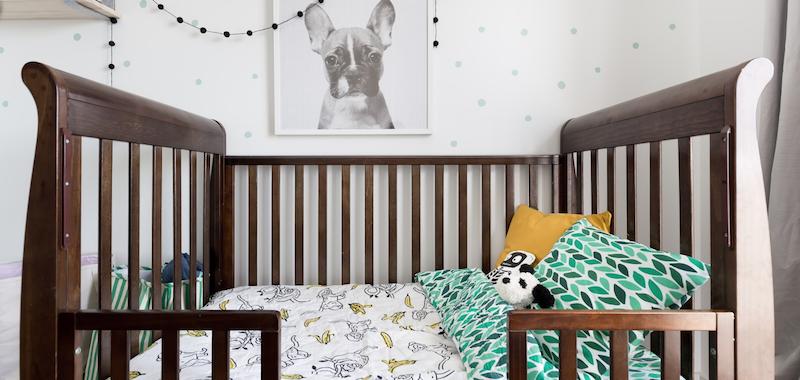 A Nursery To Grow With A Baby Boy