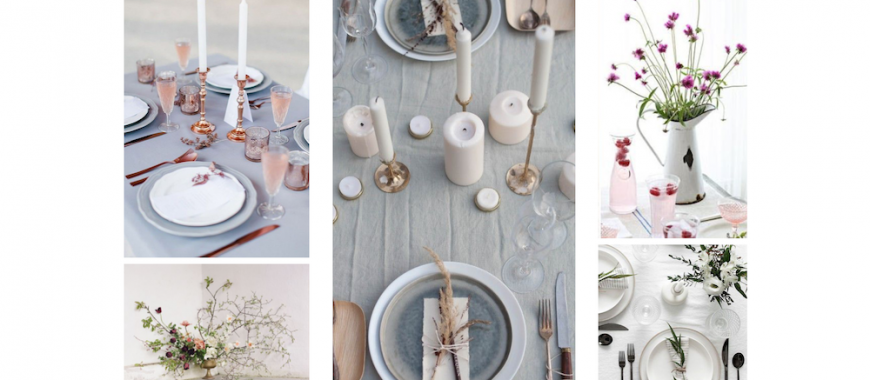 How To Style Your Table For a Romantic Dinner