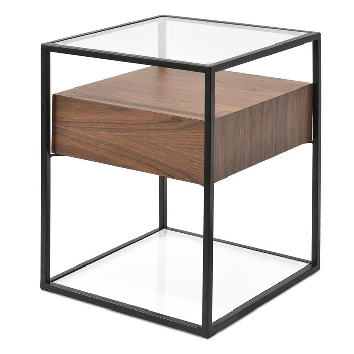 Norman-Scandinavian-Side-Table-Walnut