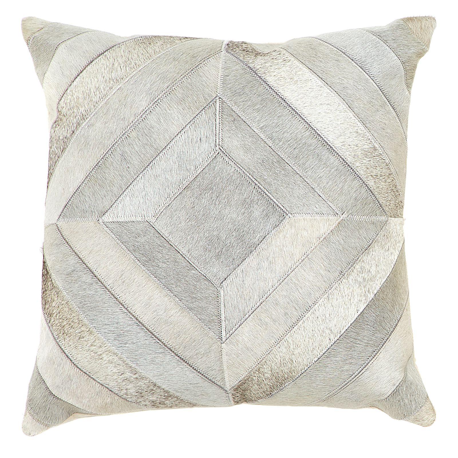 Diamond Alpine Cowhide Cushion
