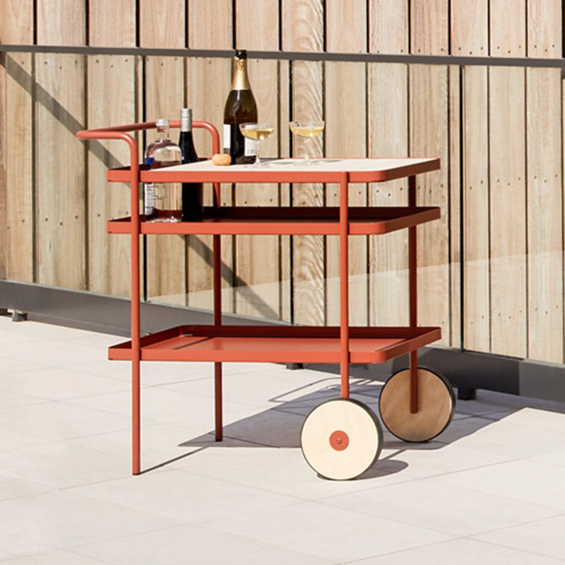 Burnt-Orange-Bar-Cart