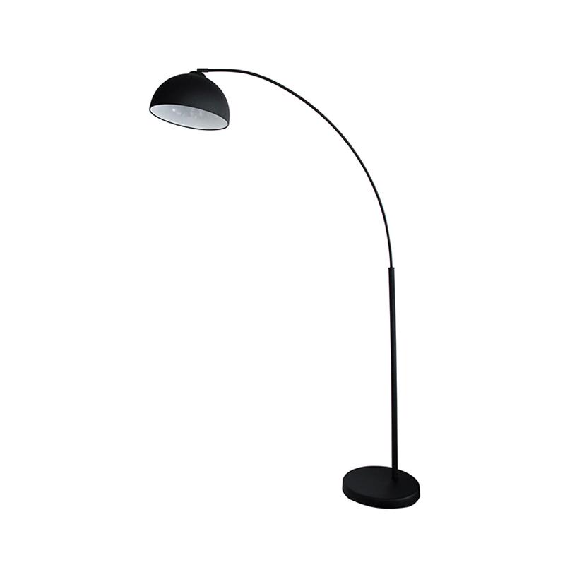 Oriel-Lighting-Dome-ARC-Floor-Lamp-in-Black-SL91201BK
