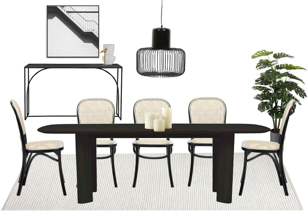 chic_contemporary_dining_area