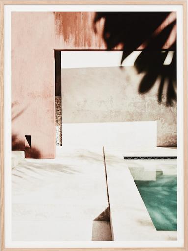 Poolside Summer Print