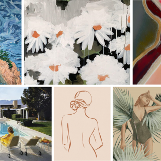 Designer's Top Places To Buy Affordable Art Online